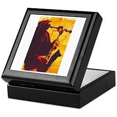 Jazz Player Keepsake Box