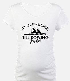 Rowing enthusiast designs Shirt