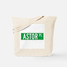 Astor Place, New York - USA Tote Bag