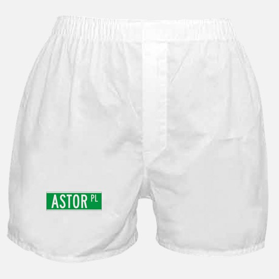 Astor Place, New York - USA Boxer Shorts