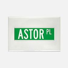 Astor Place, New York - USA Rectangle Magnet