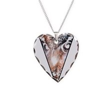 Owl Triangle Necklace
