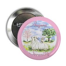 Goat Angora Serenity Button