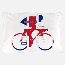Britain Cycling Pillow Case