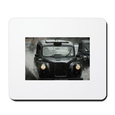 Taxi in Puddle Mousepad