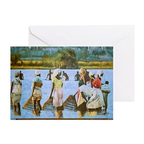 Congolese Women Greeting Cards (Pk of 10)