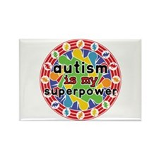 Autism is My Super Power Rectangle Magnet (10 pack