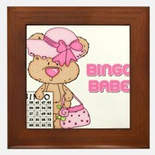 BINGO BABE Framed Tile