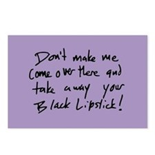 Take Away Your Black Lipstick Postcards (Package o