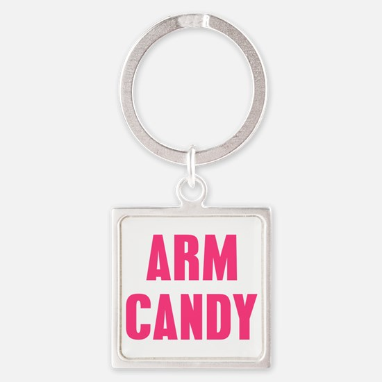 Arm Candy Square Keychain
