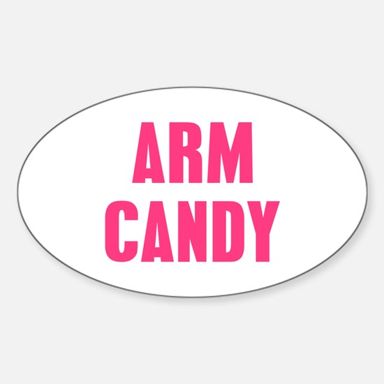 Arm Candy Sticker (Oval)