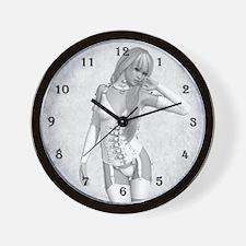 The slave Bride b/w Wall Clock