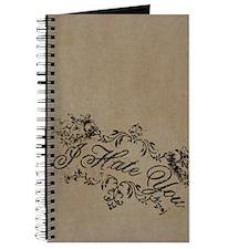 Fancy I Hate You Journal