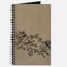 Fancy I Hate You Journal