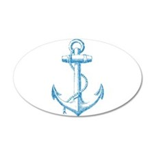 Glitter Anchor Wall Decal