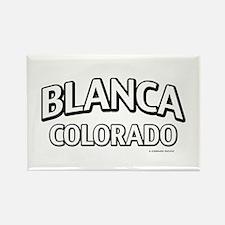 Blanca Colorado Rectangle Magnet