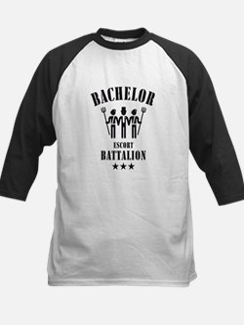 Bachelor Escort Battalion (Stag Party, Black) Tee