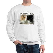 Women and Cats Sweatshirt