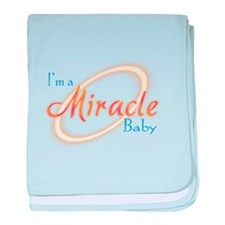 I'm a Miracle Baby baby blanket