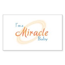 I'm a Miracle Baby Decal