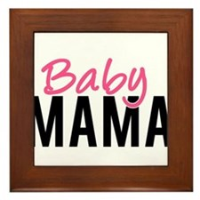 Baby Mama Framed Tile
