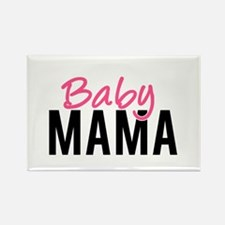 Baby Mama Rectangle Magnet