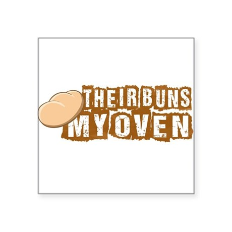 Their buns - My oven Sticker
