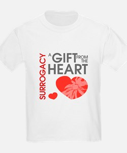Surrogacy A Gift from the Heart T-Shirt
