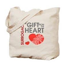 Surrogacy A Gift from the Heart Tote Bag