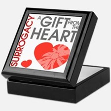 Surrogacy A Gift from the Heart Keepsake Box