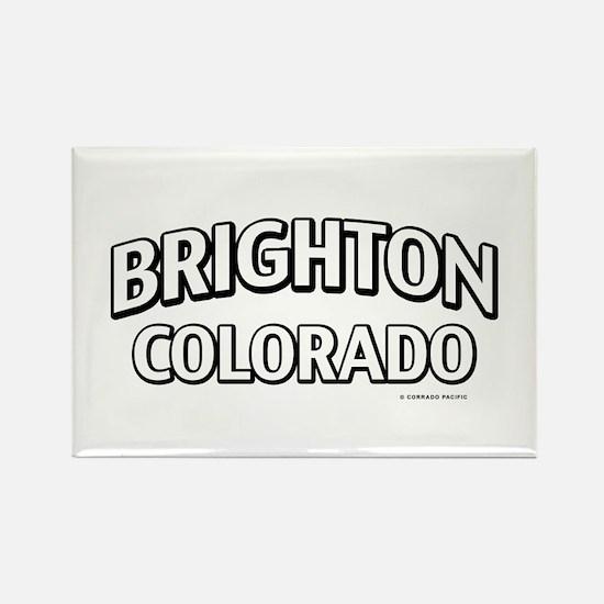 Brighton Colorado Rectangle Magnet