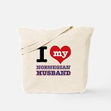 I love my Norwegian Husband Tote Bag