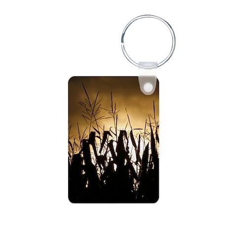 Corn field silhouettes Keychains