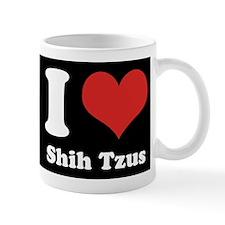 I Heart Shih Tzus Mug