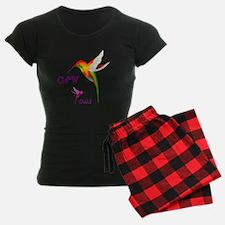 Walela - Cherokee Hummingbird Pajamas