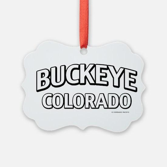 Buckeye Colorado Ornament