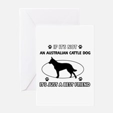 Australian Cattle Dog designs Greeting Card