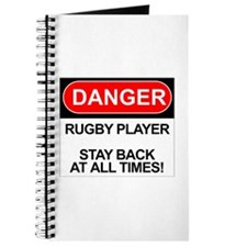 """Danger Rugby Player"" Journal"