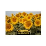Extreme Gardener Rectangle Magnet