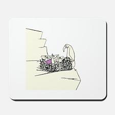 Purple Wings Mousepad