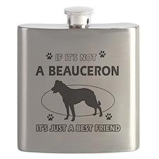 Beauceron designs Flask