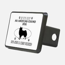 American Eskimo Dog designs Hitch Cover