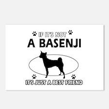 Basenji designs Postcards (Package of 8)