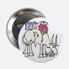 """Red and Lilac Dinosaurs 2.25"""" Button"""