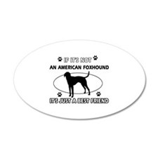 American Foxhound designs Wall Decal