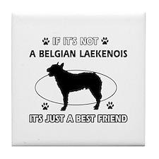 Belgian Laekenois designs Tile Coaster