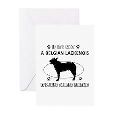 Belgian Laekenois designs Greeting Card