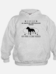 American Staffordshire Terrier designs Hoodie