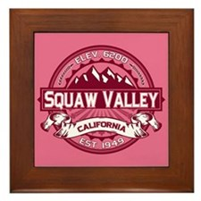 Squaw Valley Honeysuckle Framed Tile