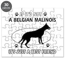 Belgian Malinois designs Puzzle